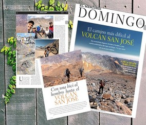 Volcán San José; Un Camino Difícil en Páginas Centrales