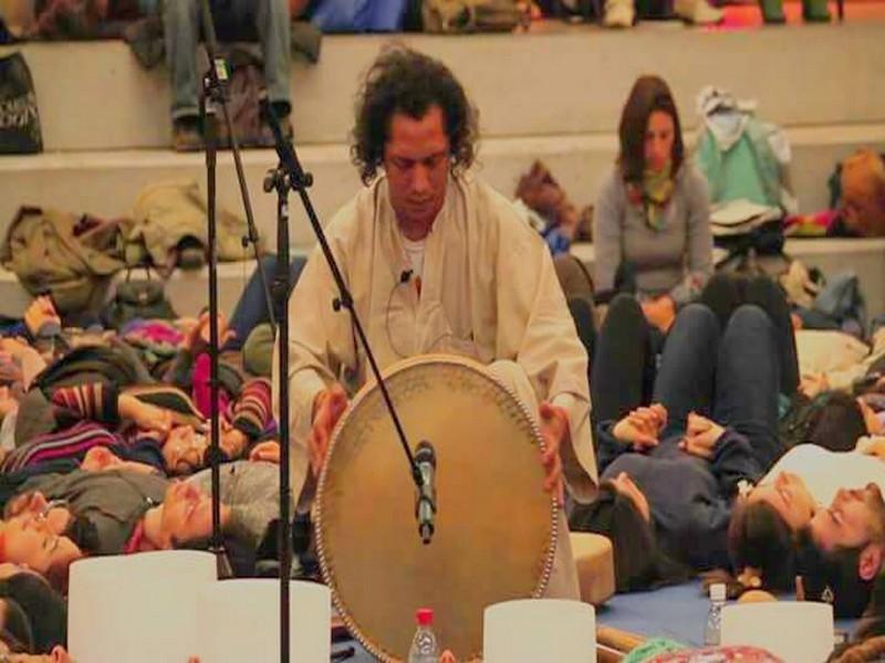 Sonoterapia: Círculo de Tambores
